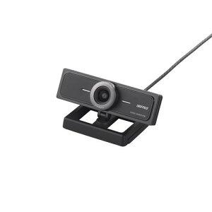 バッファロー iBUFFALO マイク内蔵200万画素WEBカメラ 120°広角ガラスレンズ搭…