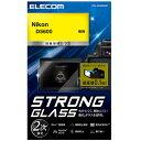エレコム ELECOM デジカメ液晶保護ガラスフィルム 高光沢 ゴリラガラス 超極薄 Nikon D5600 DFL-ND56GG01