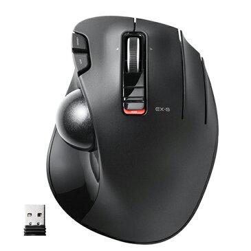 エレコム ワイヤレスマウス トラックボール 6ボタン ブラック M-XT3DRBK マウス ワイヤレス ELECOM 【 あす楽 】