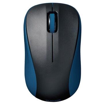 エレコム ELECOM ワイヤレスマウス Bluetooth IR 5.0 3ボタン 軽量 小型 電池長持ち ブルー M-BY10BRBU