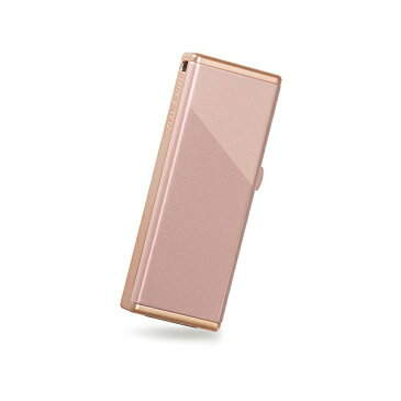 バッファロー iBUFFALO-女性向 キャップレス USB3.0 USBメモリー 32GB コーラル RUF3-JW32G-SC