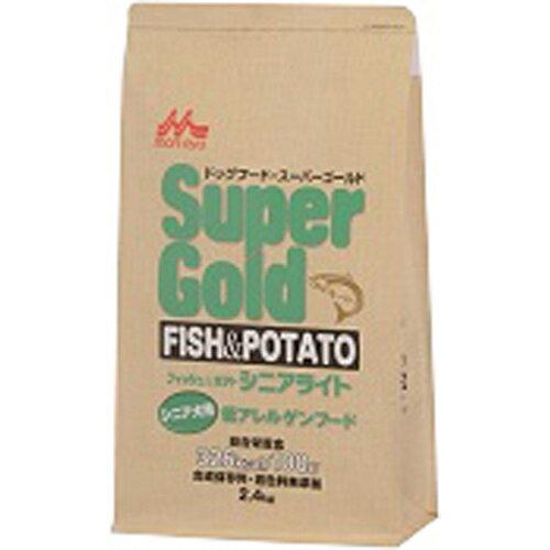 スーパーゴールド フィッシュ&ポテト シニアライト シニア犬用 低アレルゲンフード 2.4kg スーパーゴールド 低アレルギー食  ※商品は1点(個)の価格になります。