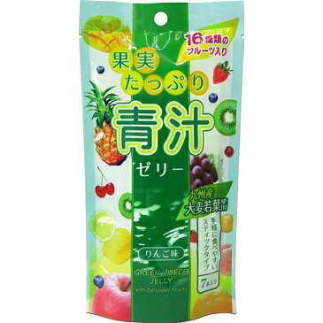 果実たっぷり青汁ゼリー 105g(15gx7包) ※商品は1点(個)の価格になります。