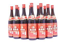 紹興酒 5年物紹興酒640ml×12本 赤ラベル 誕生日お祝い プレゼントギフト【 あす楽 】
