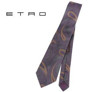 ETRO エトロ ネクタイ メンズ ペイズリー パープル 紫 並行輸入品 メンズファッション 男性用 ビジネス 日本未入荷 ラッピング無料 送料無料