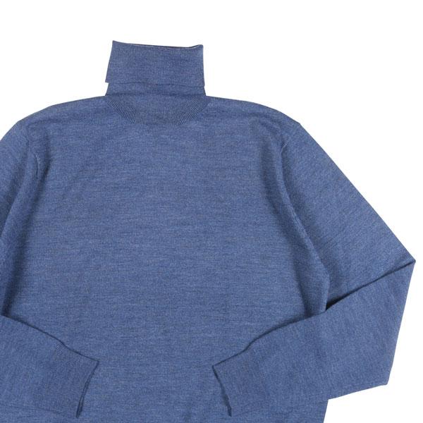 【54】 Blu Cashmere ブルーカシミヤ タートルネックセーター メンズ 秋冬 ブルー 青 並行輸入品 メンズファッション 男性用 ビジネス ニット 大きいサイズ 日本未入荷 ラッピング無料 送料無料