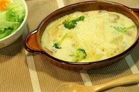 グラタン皿楕円アメ色ブラウン耐熱耳付日本製ドリアオーブン茶色シンプル耐熱食器大カフェ風耐熱皿おうちカフェほっこり