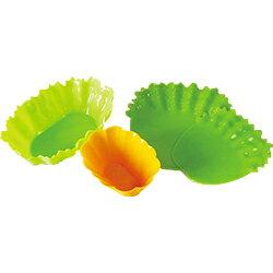 シリコン野菜カップセット ワイド[お弁当 仕切り]