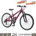 子供用自転車 マウンテンバイク ルイガノ J24 24インチ...
