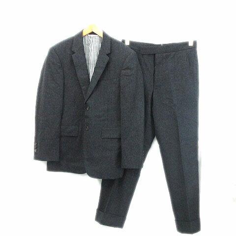 トムブラウン THOM BROWNE スーツ セットアップ ジャケット パンツ シングル グレー系 L 秋冬 0502...
