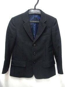 【Sirmione】 テーラードジャケット スーツ フォーマル 長袖 ブラック系 110 キッズ 子供服 ☆...