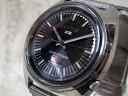 【CITIZEN/シチズン】 コスモトロン X8 電磁テンプ 1970年代 初期 腕時計 黒文字盤 ☆★K-7922...