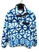 パタゴニア Patagonia プルオーバー フリース ジャケット 総柄 サイズ S 青 白 アウトドア ウエア アウター レディース 【中古】【ベクトル 古着】 170413 ブランド古着ベクトルプレミアム店