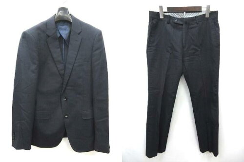 MODA RITORNO スーツ スリーピース ストライプ ジャケット パンツ べスト 3点セット 紺 YA-6 ※ZZ5...