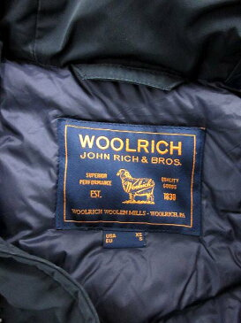 【3MJK】ウールリッチ WOOLRICH ダウンジャケット ARCTIC PARKA フード S 黒 /KH ●D メンズ 【中古】【ベクトル 古着】 190110 ブランド古着ベクトルプレミアム店