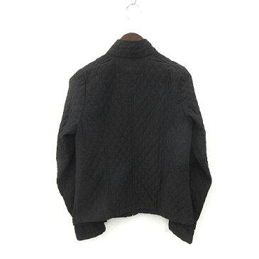 メローナ MERONA ジャケット キルティング ジップアップ 黒 ブラック size S 180327 レディース 【中古】【ベクトル 古着】 180327 ブランド古着ベクトルプレミアム店