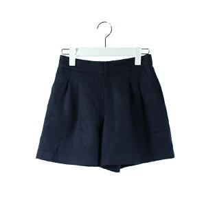 [इस्तेमाल किया] अप्रयुक्त लेस पासे LAISSE PASSE पैंट शॉर्ट फ्लेयर नेवी 36 / DK44 देवियों [वेक्टर प्रयुक्त कपड़े] 190715 वेक्टर प्रीमियम स्टोर