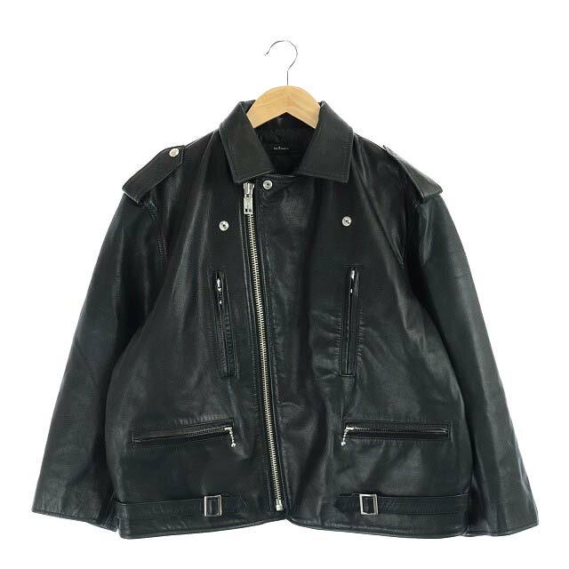 メンズファッション, コート・ジャケット  blackmeans MOTOR LEATHER JACKET 1 CM OS 210719