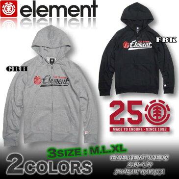 エレメント メンズ ELEMENT パーカー ジップアップ ミニ裏起毛 フーディー スケボー あす楽対応 アウトレット SALE セール