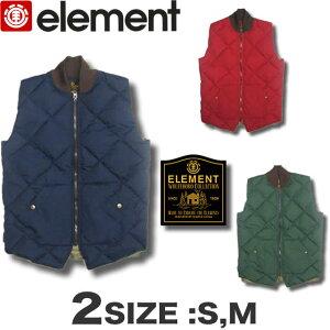 【送料無料】エレメント メンズ ELEMENT ダウン ベスト スケボー WOLFBORO 【あす楽対応】AE022-790