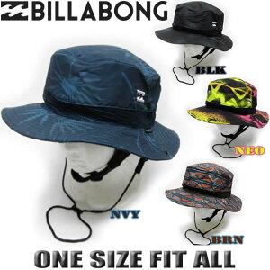 ビラボン サーフハット メンズ BILLABONG 帽子 UVハット 紫外線対策 プリント柄 サーフブランド【あす楽対応】AI011-942