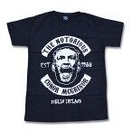 【送料無料】コナーマクレガー 顔 Tシャツ 黒 M/L/XLサイズ UFC 総合格闘技 MMA 悪童 メンズ ブラック
