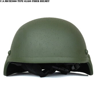 New U.S. military MICH2000 type glass fibre helmet olive special forces currently used many modern-type helmet excellent shock absorption structure at a lower price, are reproduced