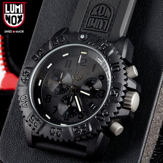 LUMINOX Luminox watch 3081 BLACKOUT NAVY SEALs a COLOR MARK CHRONOGRAPH SERIES WIP