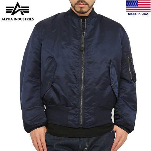 10%OFFクーポン対象◆[MA-1] ALPHA INDUSTRIES アルファインダストリーズ MADE IN U.S.A MA-1 フ...