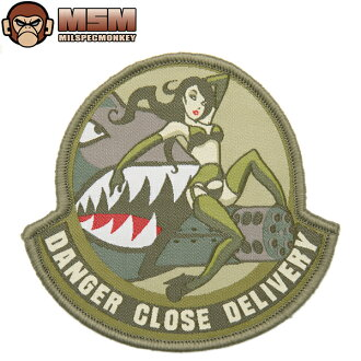 Any mil-spec MONKEY mil-spec Monkey patches (patch) Danger Close Arid joke patches in the famous mil-spec Monkey patches bag or jacket Velcro Panel allows custom mss WIP various men's