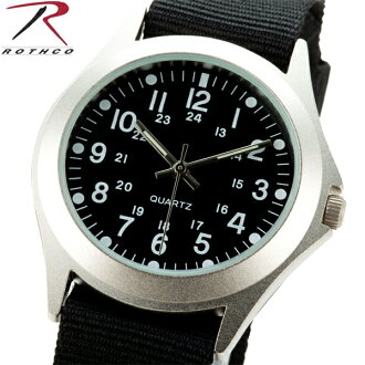 The ROTHCO Rothko 4427 MILITARY STYLE QUARTZ WATCH BLACK watch watch mil-spec mil-spec MIL standard metal case is sized belts are made of nylon lightweight arm feels great Board WIP ROTHCO Rothko