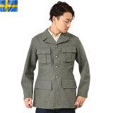 店内20%OFF◆ミリタリー 実物 スウェーデン軍 M-39 ウールジャケット USED #1 WIP メンズ ミリタリー アウトドア キャッシュレス 5%還元