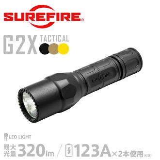 萬無一失萬無一失 G2X 戰術單輸出 LED 手電筒筒 (G2X C) 320 流明軍用手電筒筒閃光光手柄 LED 應急手電筒筒 mss WIP 男裝 10P05Nov16。