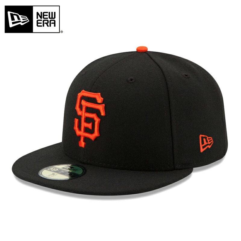 店内20%OFF◆【メーカー取次】 NEW ERA ニューエラ 59FIFTY MLB On-Field サンフランシスコ・ジャイアンツ ブラック 11449343 キャップ / 帽子 キャップ ハット シリーズ 大リーグ メジャーリーグ 野球 球団 WIP メンズ ミリタリー キャッシュレス 5%還元