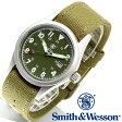 【クーポン対象外】 Smith & Wesson スミス&ウェッソン MILITARY WATCH 腕時計 OLIVE DRAB SWW-1464-OD メンズ ミリタリー アウトドア WIP-1 ハロウィン コスプレ