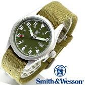 【クーポン対象外】 Smith & Wesson スミス&ウェッソン MILITARY WATCH 腕時計 OLIVE DRAB SWW-1464-OD 旅行 レジャー 帰省