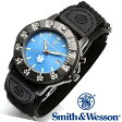 【クーポン対象外】 Smith & Wesson スミス&ウェッソン 455 EMT WATCH 腕時計 BLUE/BLACK SWW-455-EMT 父の日 ギフト プレゼント