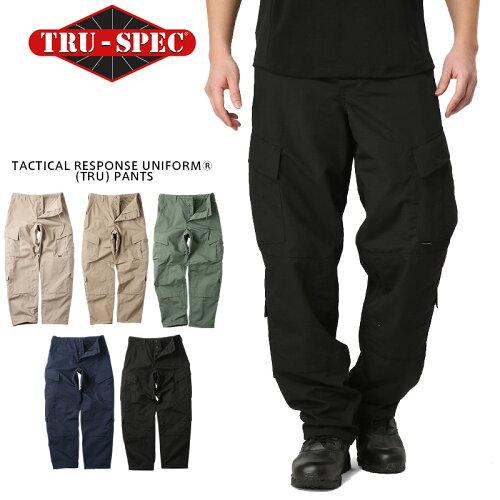 TRU-SPEC トゥルースペック Tactical Response Uniform パンツ SOLID COLOR(1287 KHAKI / 1271 CO...