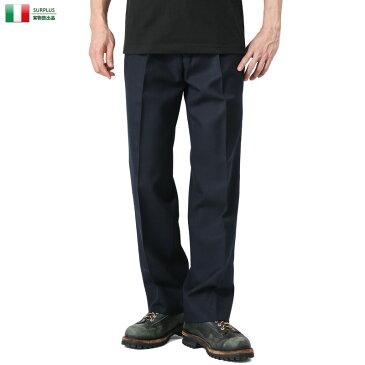 店内20%OFF◆実物 新品 イタリア デッドストック トラウザー パンツ キャッシュレス 5%還元