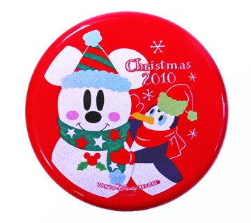 東京ディズニリゾート 2010クリスマス 蓋付きプレート
