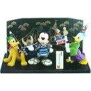 ディズニー 東京ディズニーリゾート ミッキーとドナルド、プルートがいる五月人形