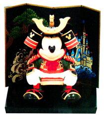五月人形 ディズニー ミッキーの兜を被った武者人形 小 東京ディズニーリゾート