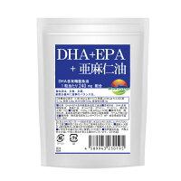 DHA+EPA30粒α-リノレン酸亜麻仁油配合サプリメントDHAEPA青魚美容健康ダイエットソフトカプセルタイプサプリメール便発送