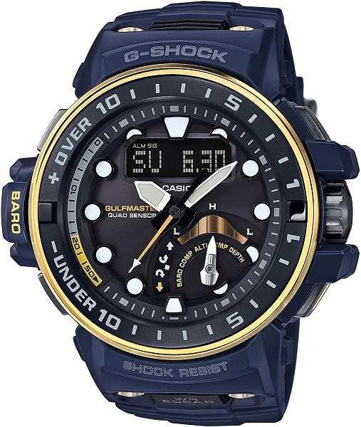 腕時計, メンズ腕時計 GWN-Q1000NV-2AJFCASIO G-SHOCK Master in NAVY BLUE