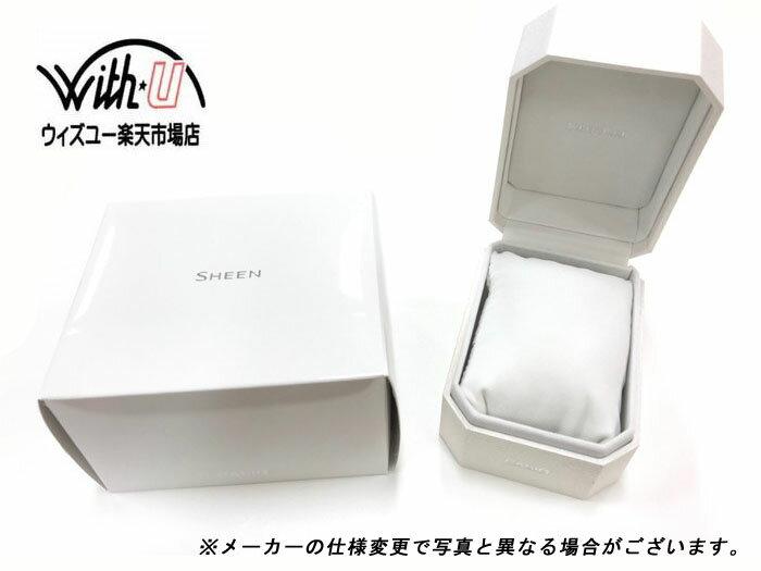 CASIO 腕時計SHEEN シーン電波ソーラー      サファイアガラス SHW-1700D-2AJFレディース