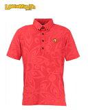 【激レア】LOUDMOUTH ラウドマウスゴルフ ボタンダウン ポロシャツ SHAGADELIC RED 769-600 新品!