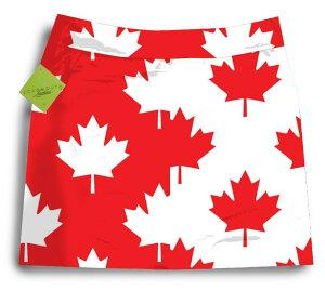 ★今がチャンス!年内送料無料★【激レア】ラウドマウス Canada Maple Leaf Skorts スカート (...