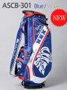 【激レア】Aloha Standard ASCB-301 9型スタンドバッグ BLUE/WHITE 新品!