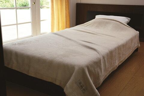 【送料無料】【日本製】ニッケ厳選 高級シルク毛布シングルサイズシルク毛布(100%)光沢感と爽やかな肌触りを持つシルク毛布は夏涼しく、冬は暖かい寝具にお最適です。保温性・吸湿性にも優れています。シルク毛布 Silk Blanket(AT40005)