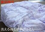 東京西川洗える羽毛肌掛け布団